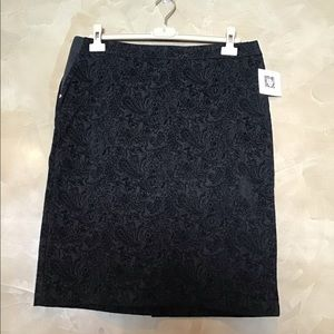 Anne Klein women's skirt size Large black